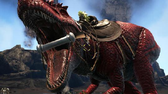 帮助你掌握方舟生存进化甲龙的掉落与驯服的方法