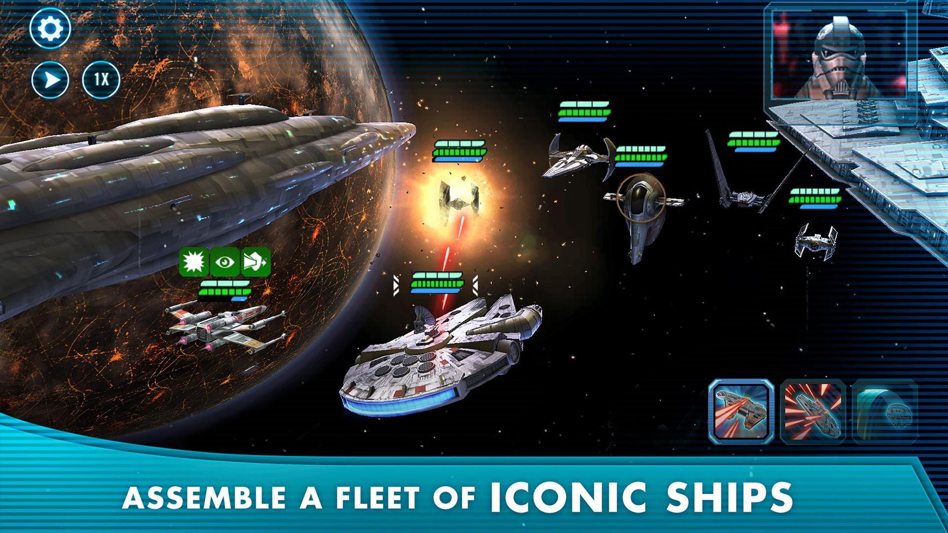 星球大战:银河英雄传 游戏截图3
