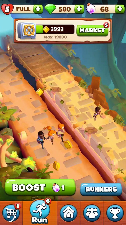 神庙逃亡:寻宝猎人 游戏截图4