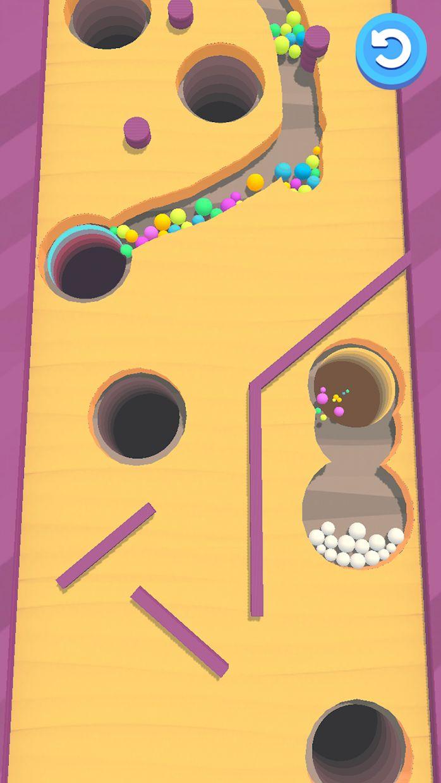 沙滩球球 游戏截图3