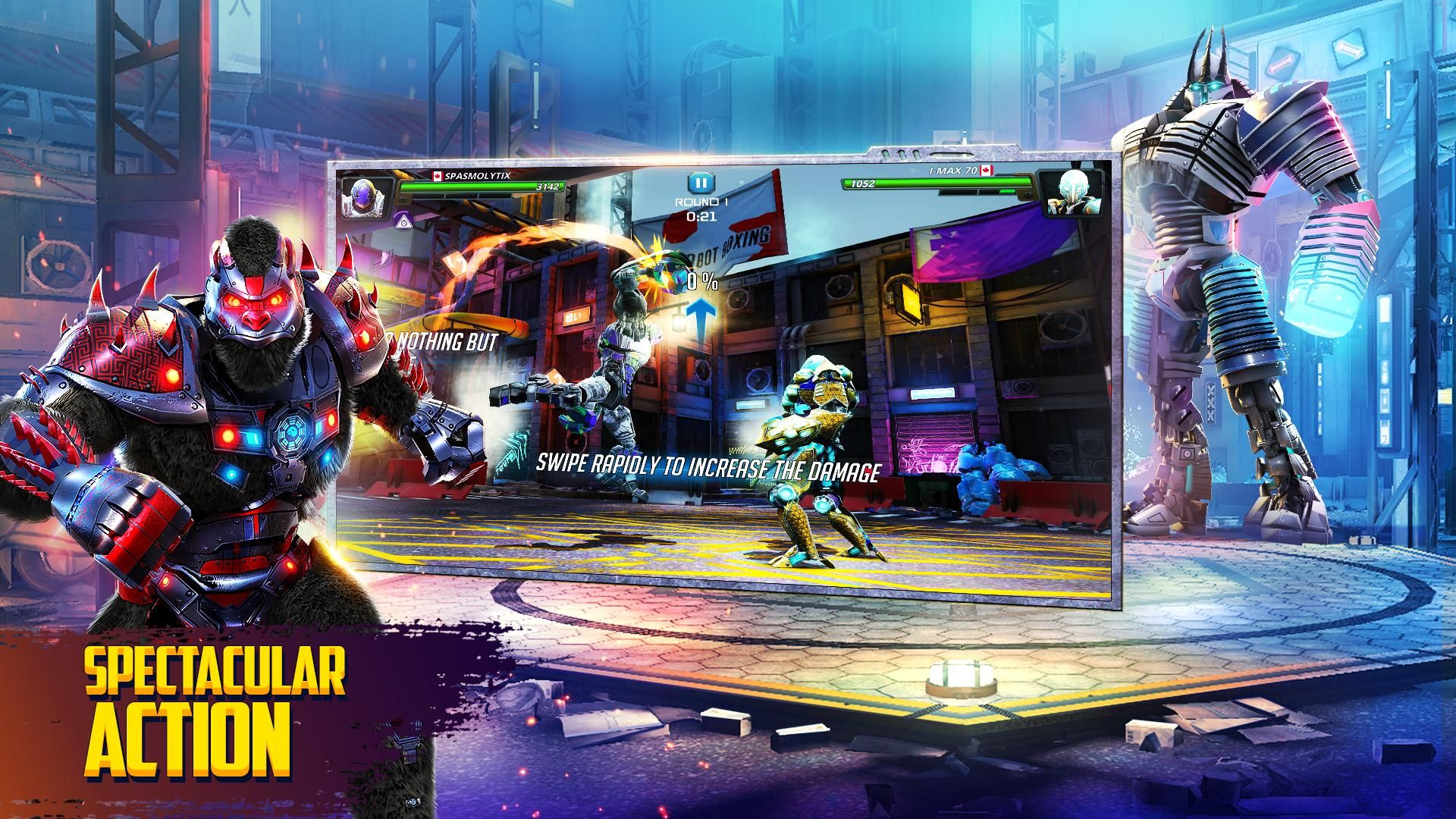 世界机器人拳击2 游戏截图2
