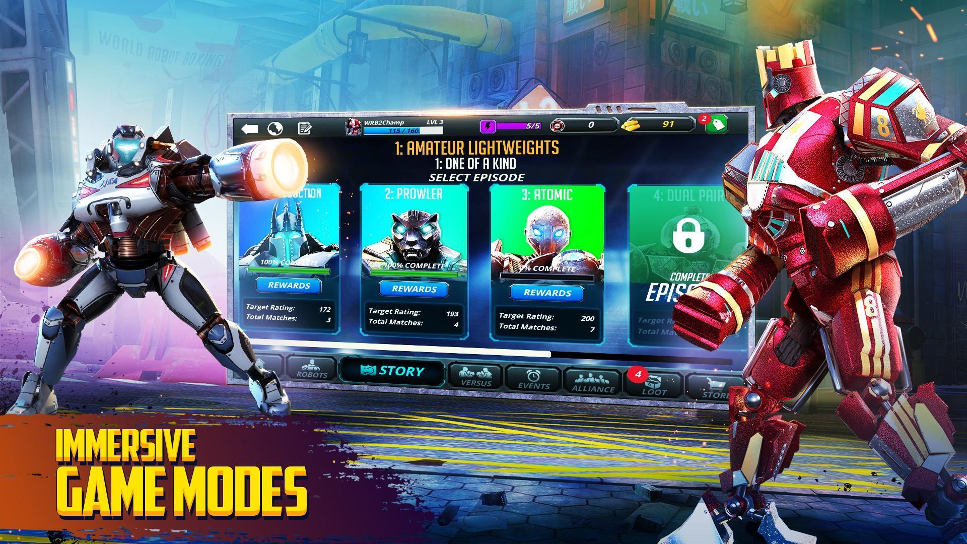 世界机器人拳击2 游戏截图4