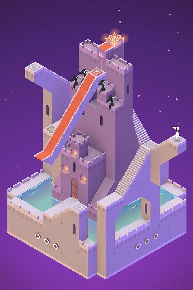 纪念碑谷 游戏截图2