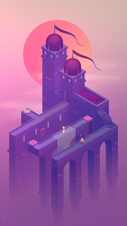 纪念碑谷2 游戏截图1
