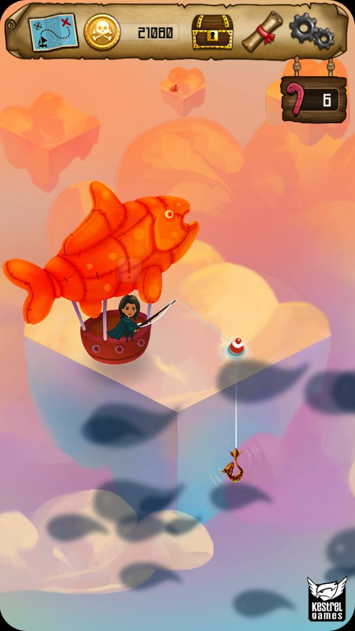 Rule with an Iron Fish: A Pirate Fishing RPG 游戏截图1