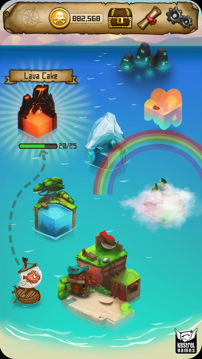 Rule with an Iron Fish: A Pirate Fishing RPG 游戏截图5