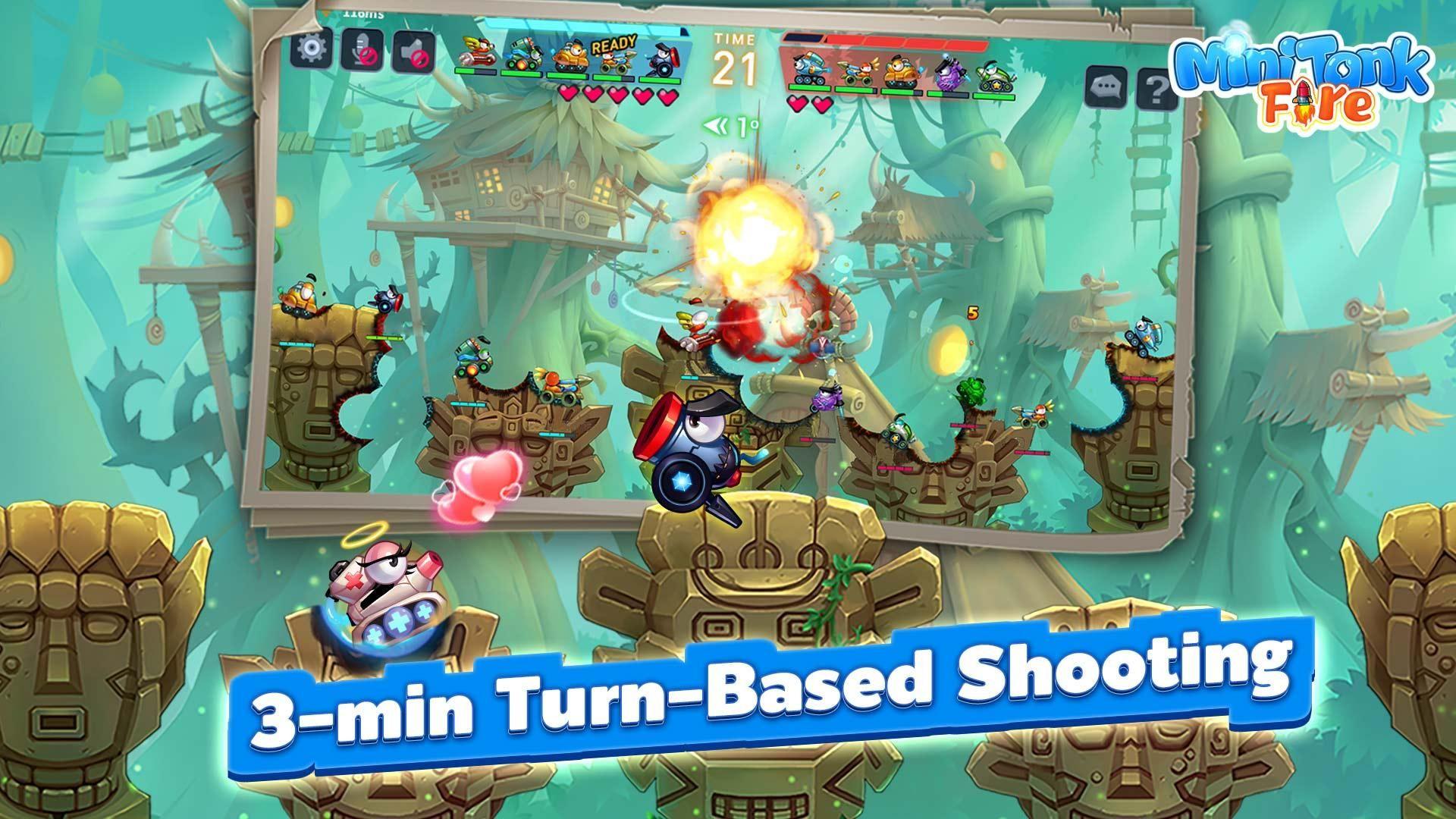 Mini Tank: Fire 游戏截图2