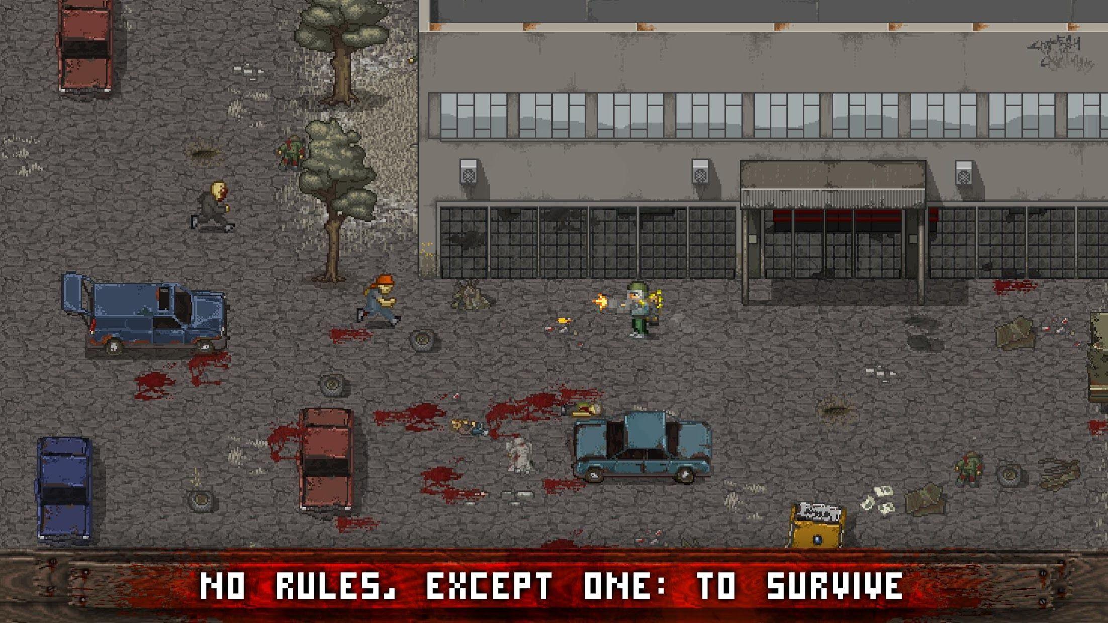 Mini DAYZ: Zombie Survival 游戏截图1
