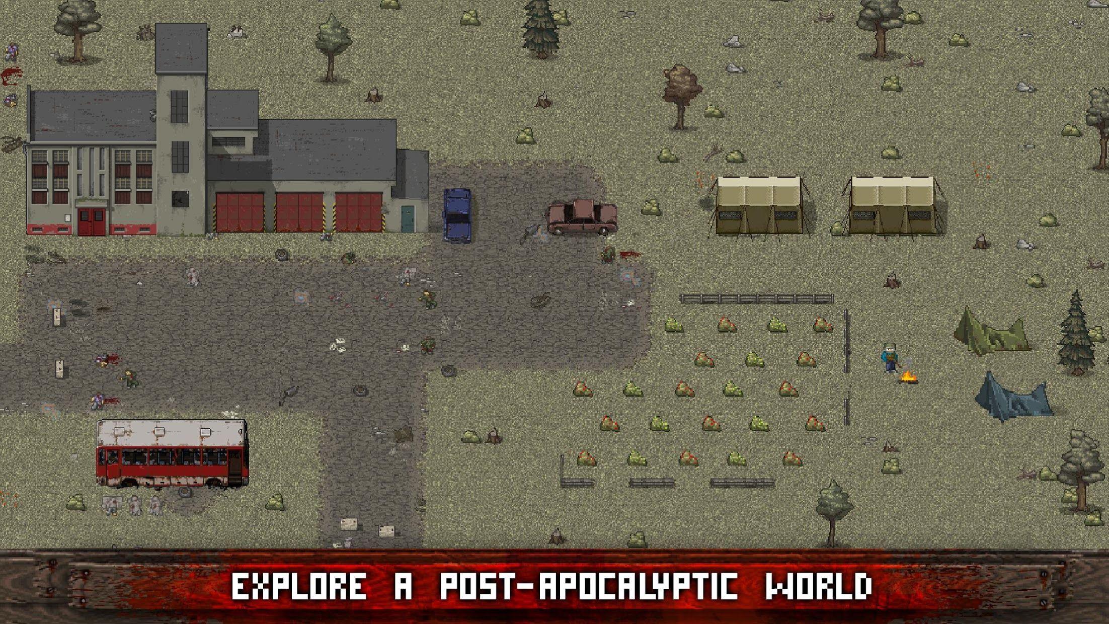 Mini DAYZ: Zombie Survival 游戏截图2