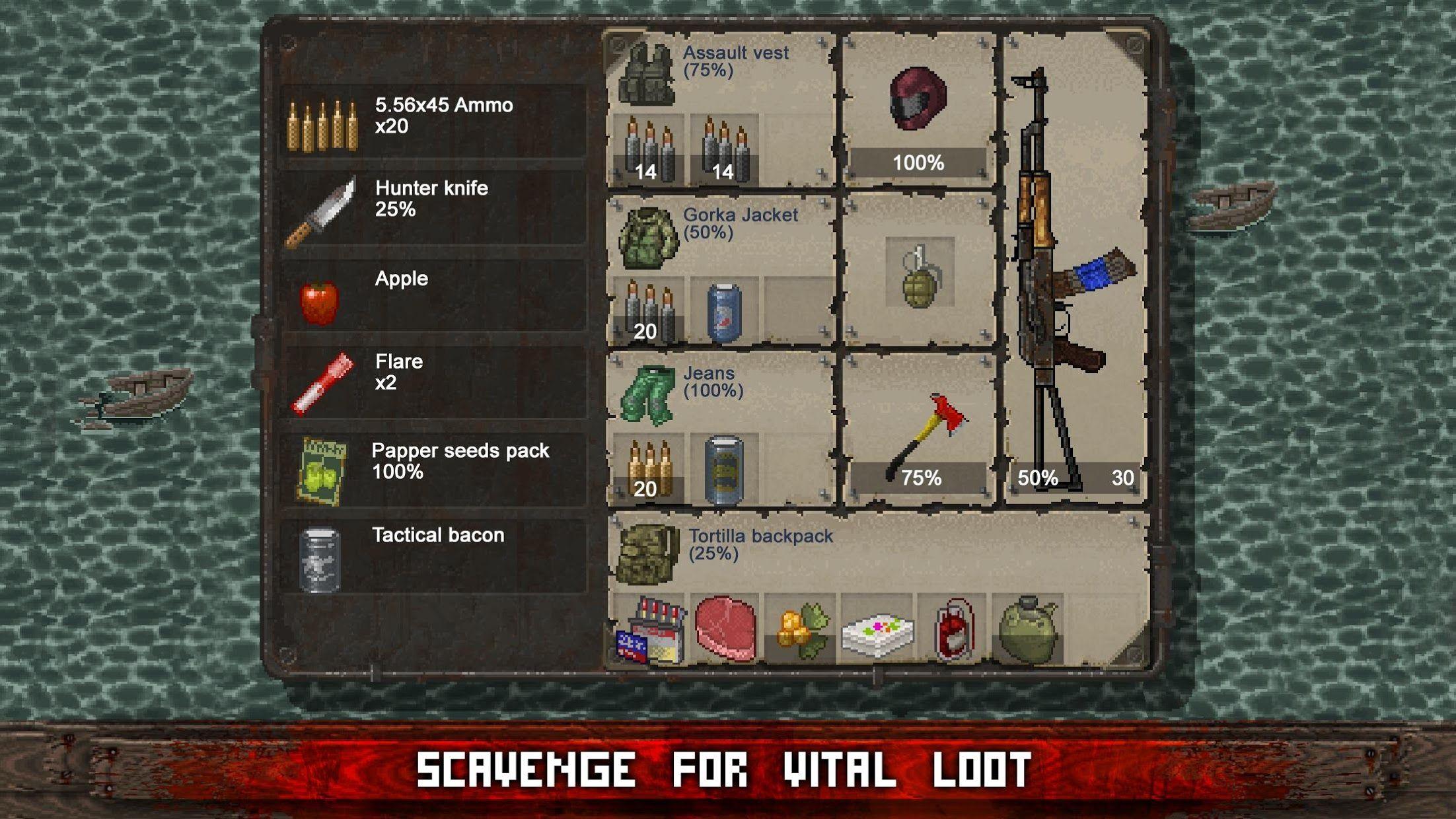 Mini DAYZ: Zombie Survival 游戏截图5