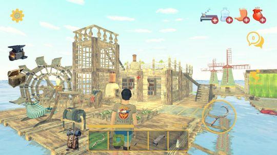 """筏生存:多人游戏:和基友踏上""""捡垃圾""""为生的海上求生之路 图片6"""