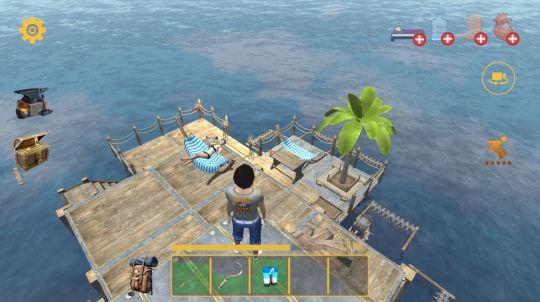 """筏生存:多人游戏:和基友踏上""""捡垃圾""""为生的海上求生之路 图片7"""