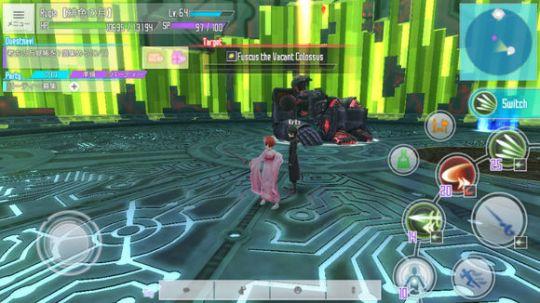 刀剑神域: 关键斗士,与原作人物一起穿越到游戏世界的MMORPG手游 图片3