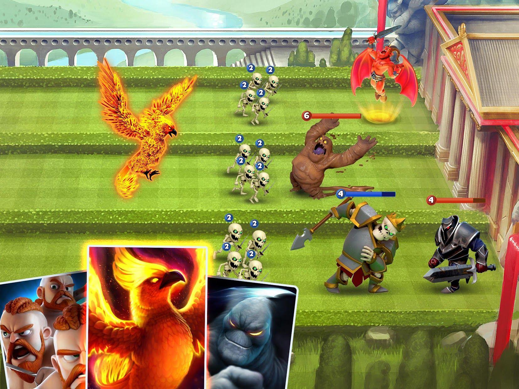 城堡粉碎战 - 最佳卡牌游戏 (Castle Crush) - 免费 游戏截图3
