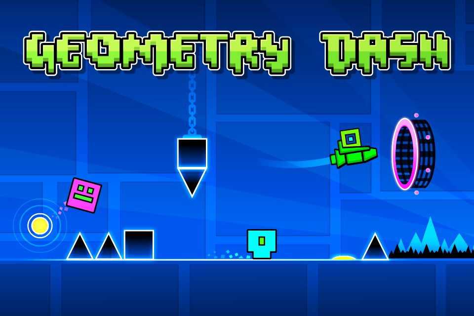 几何冲刺精简版 (Geometry Dash Lite) 游戏截图1