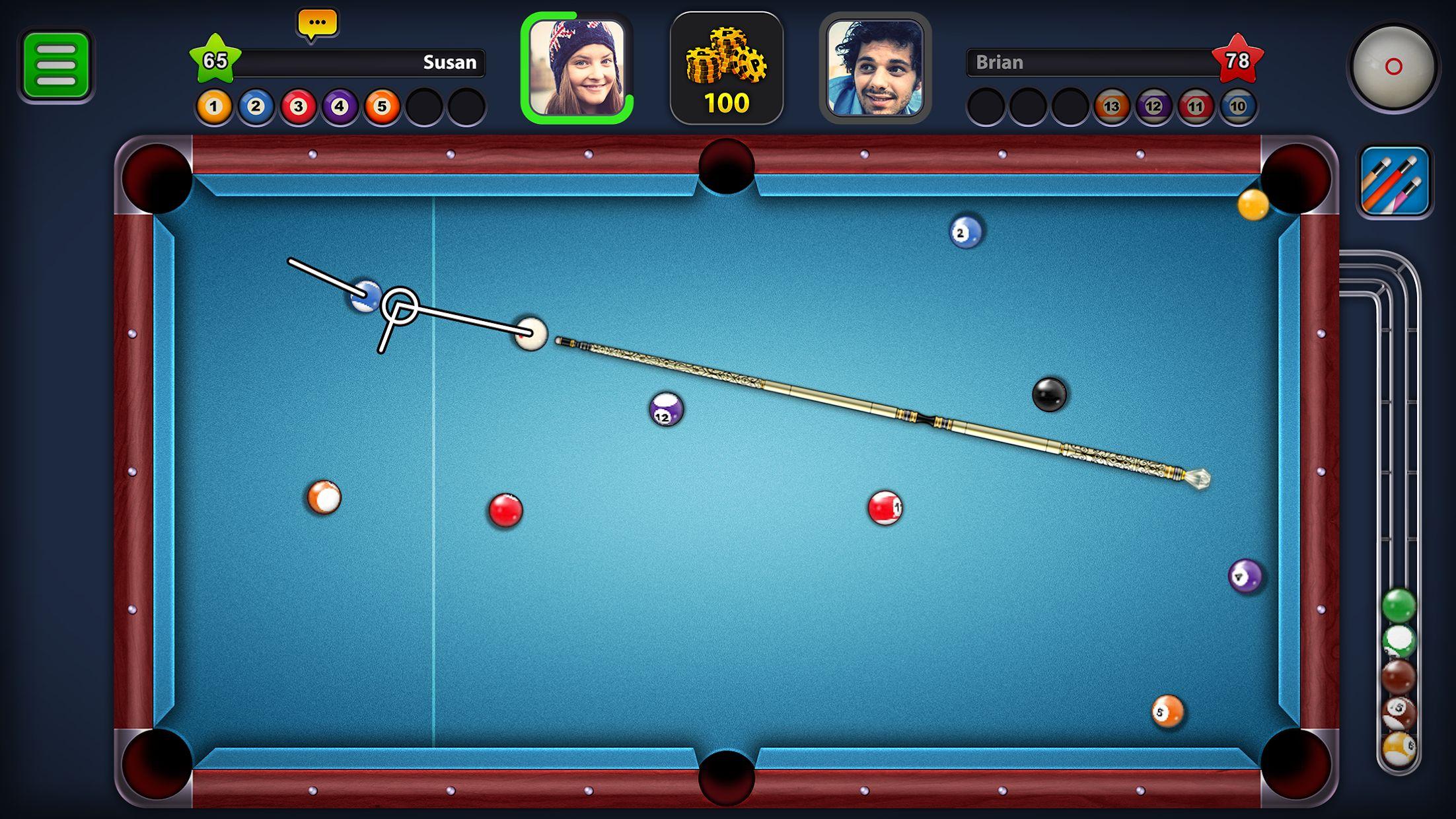 8 Ball Pool 游戏截图1