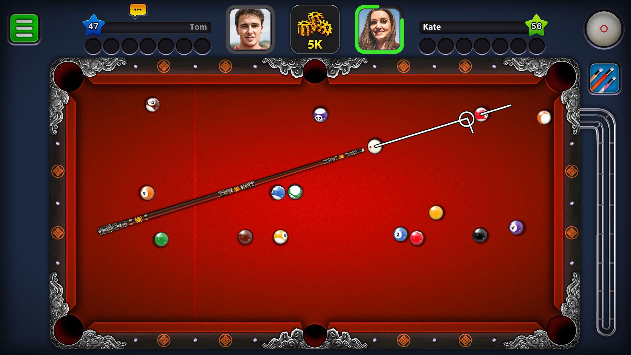 8 Ball Pool 游戏截图2