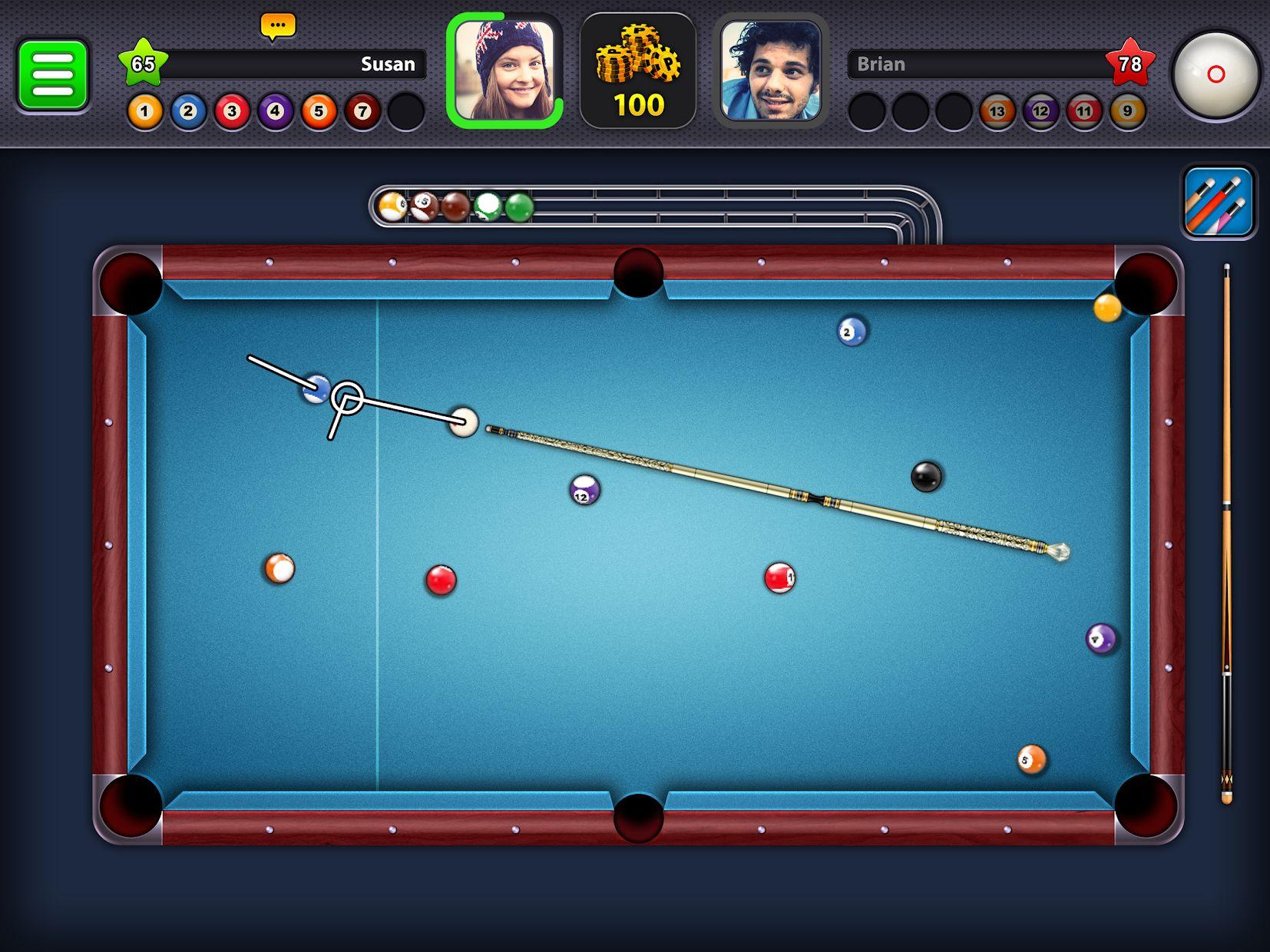 8 Ball Pool 游戏截图5