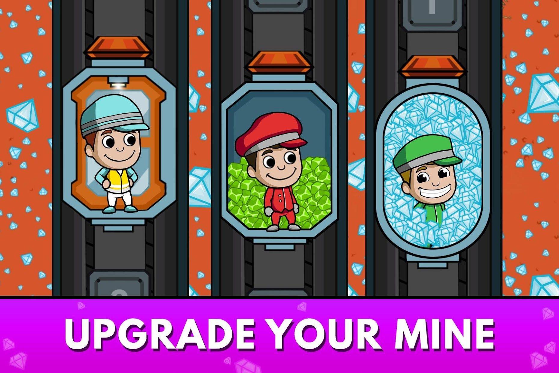 采矿大亨:掘金之旅 (Idle Miner Tycoon) 游戏截图1