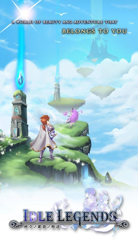Idle Legend:Gods Saga 游戏截图1