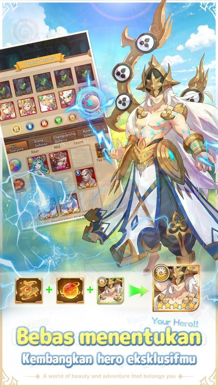 Idle Legend:Gods Saga 游戏截图4