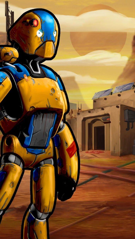 Robot Crusher Battle Ballz 游戏截图1