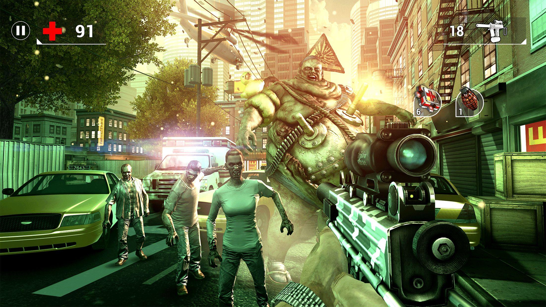 全境危机:都市生存射击游戏 游戏截图4
