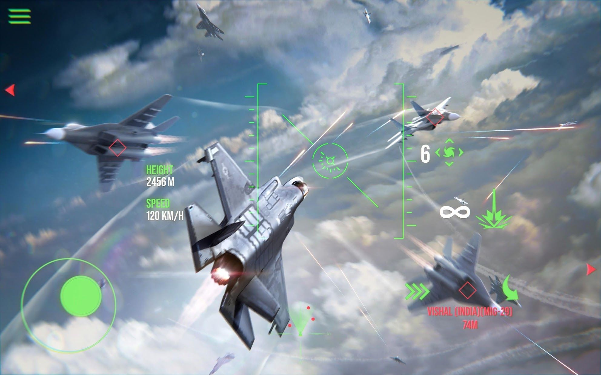 Modern Warplanes: Combat Aces PvP Skies Warfare 游戏截图2