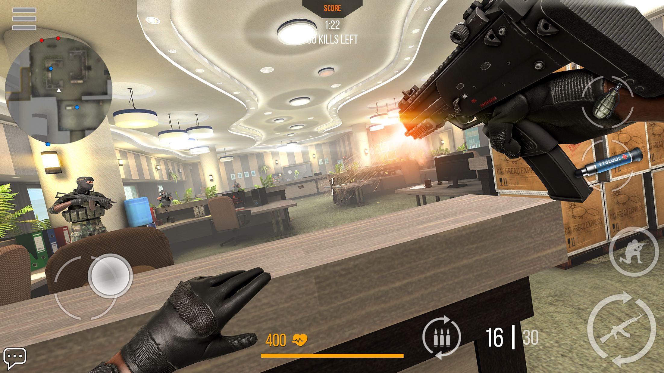 火线出击 Online: 战争游戏 射击游戏网络游戏 游戏截图3