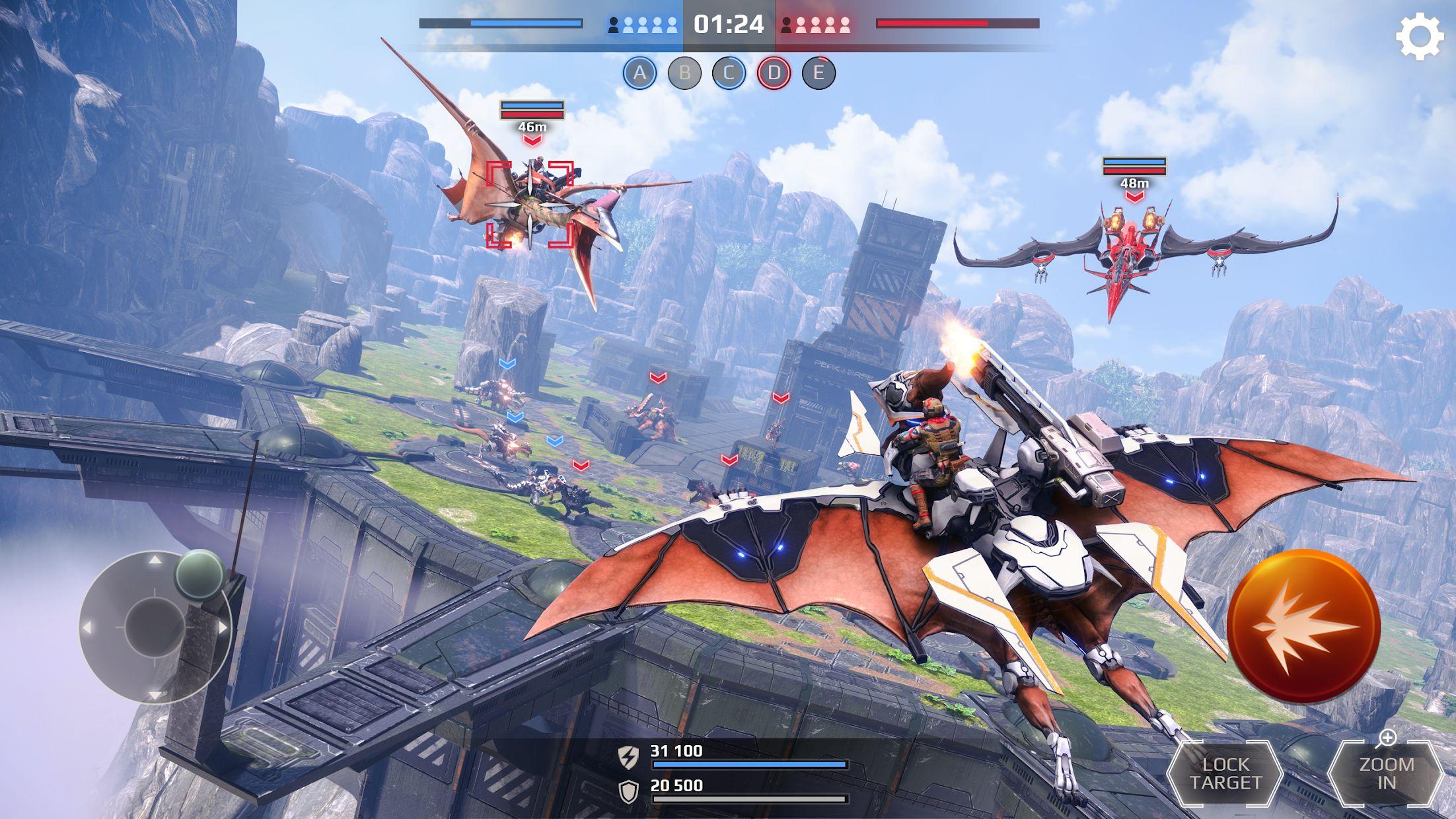 侏罗纪怪兽世界:恐龙战争 3D FPS 游戏截图1