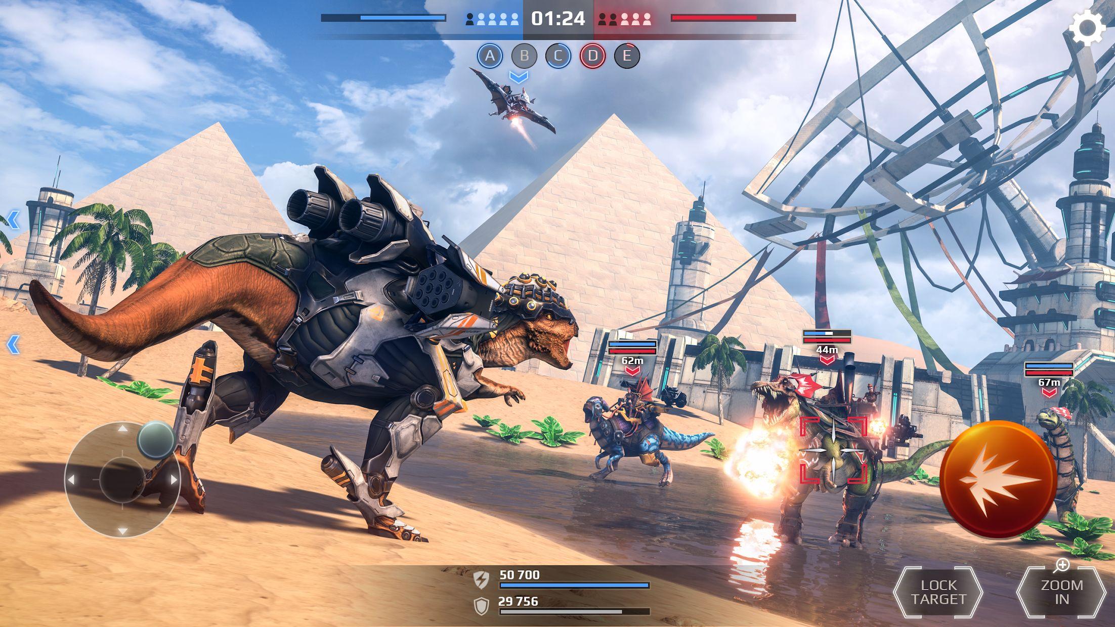 侏罗纪怪兽世界:恐龙战争 3D FPS 游戏截图2