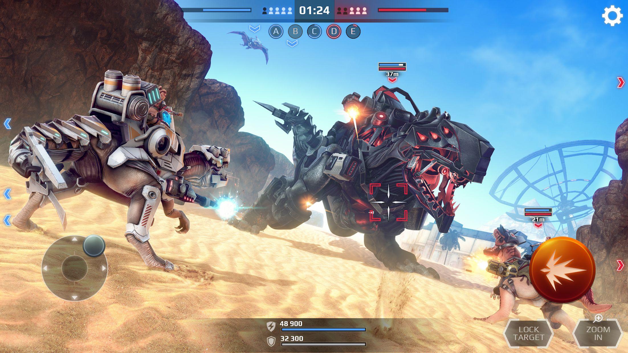 侏罗纪怪兽世界:恐龙战争 3D FPS 游戏截图3