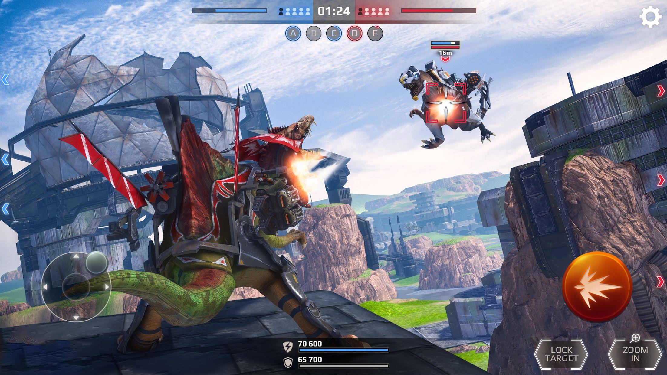 侏罗纪怪兽世界:恐龙战争 3D FPS 游戏截图5
