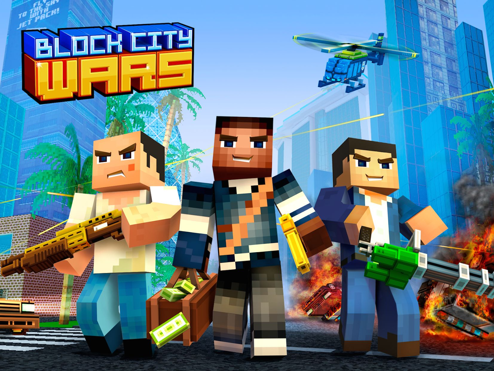 Block City Wars: Pixel Shooter with Battle Royale 游戏截图5