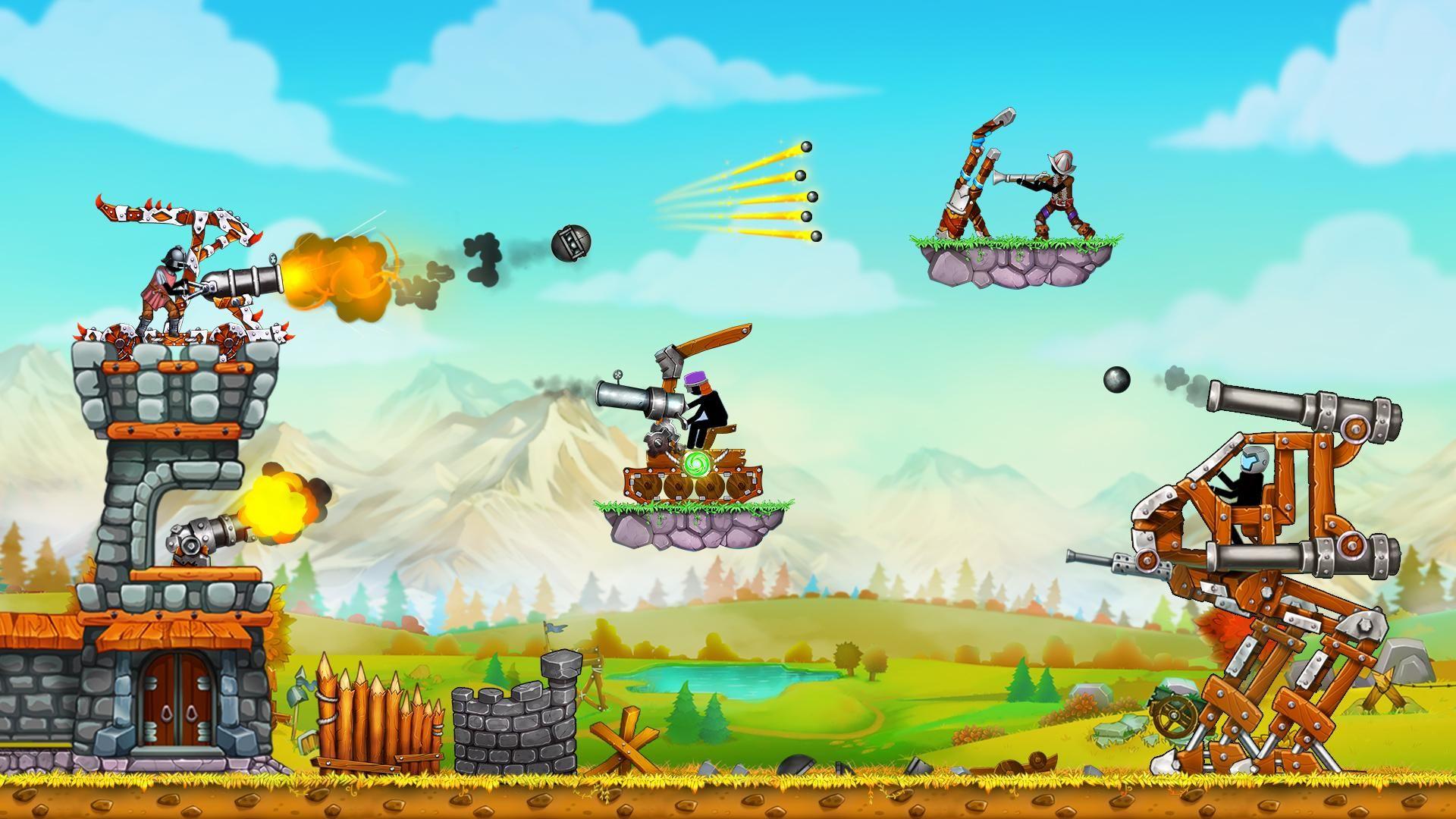 火柴人之守卫城堡2 (The Catapult 2) 游戏截图3
