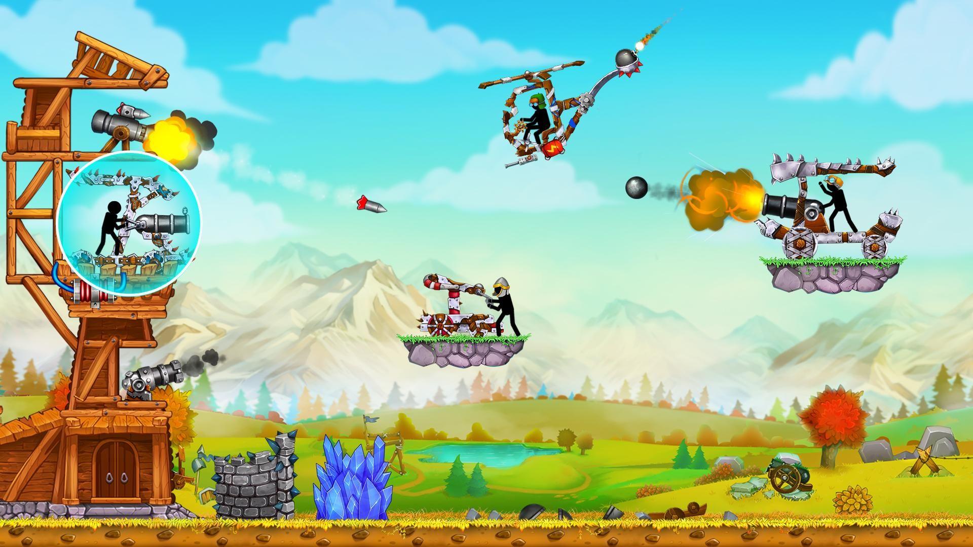 火柴人之守卫城堡2 (The Catapult 2) 游戏截图4