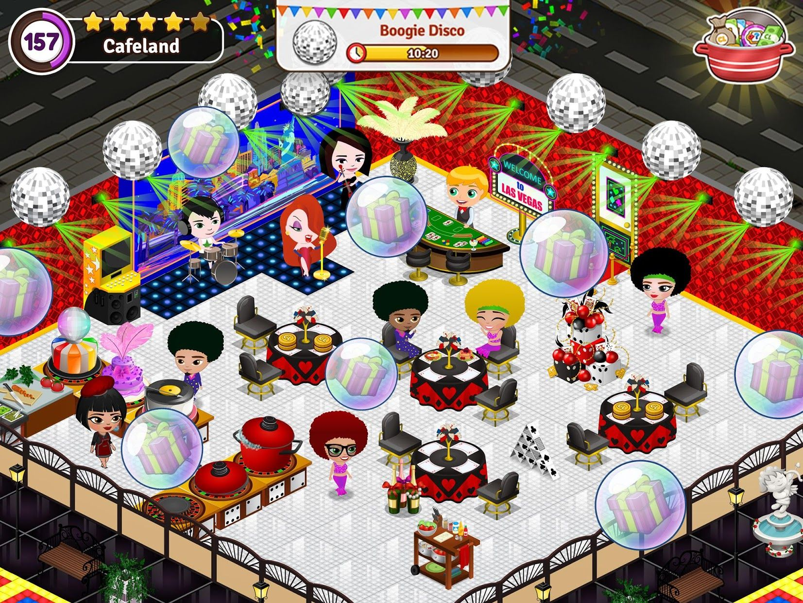 Cafeland - 餐厅游戏 游戏截图5