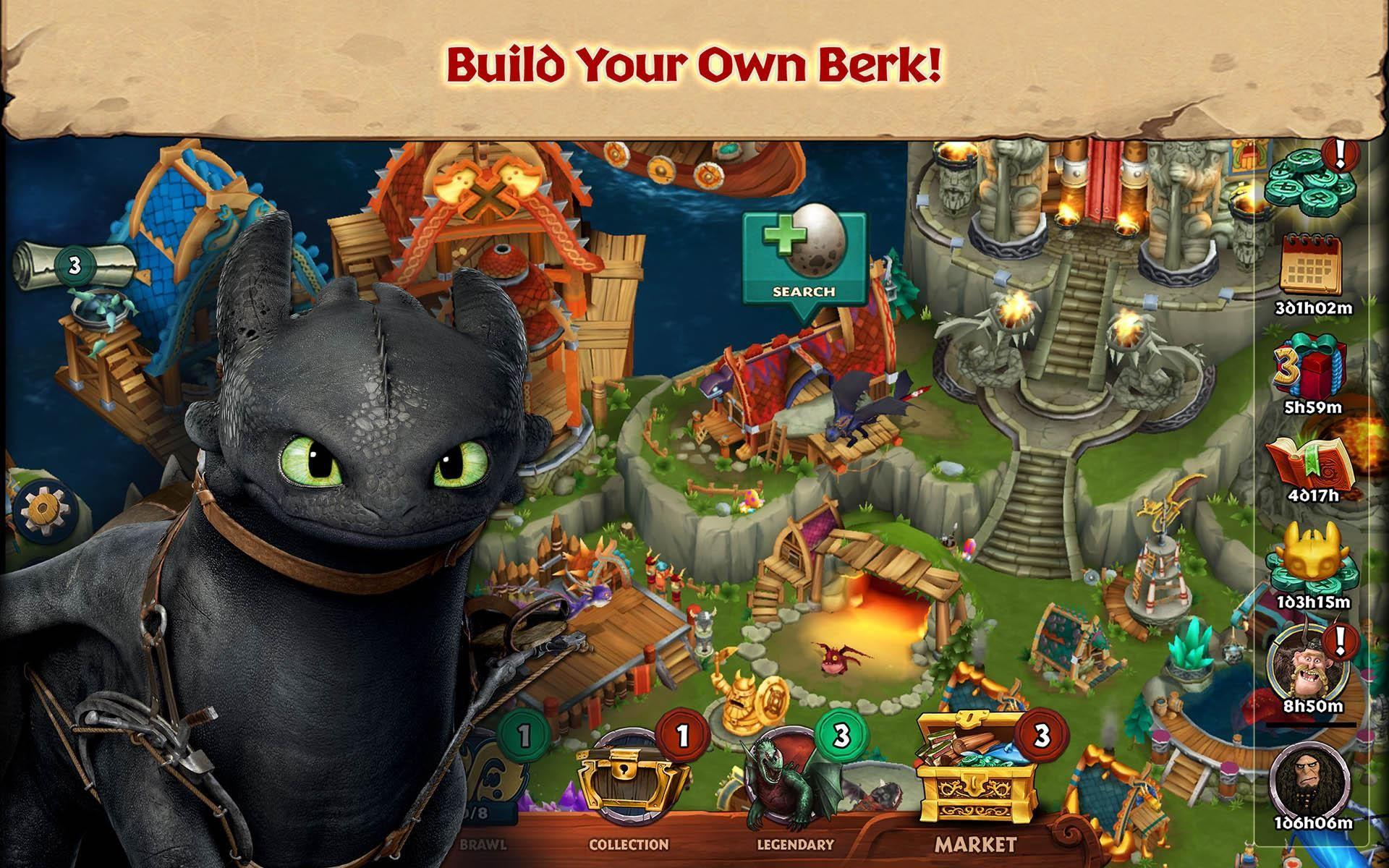 Dragons: Rise of Berk 游戏截图1
