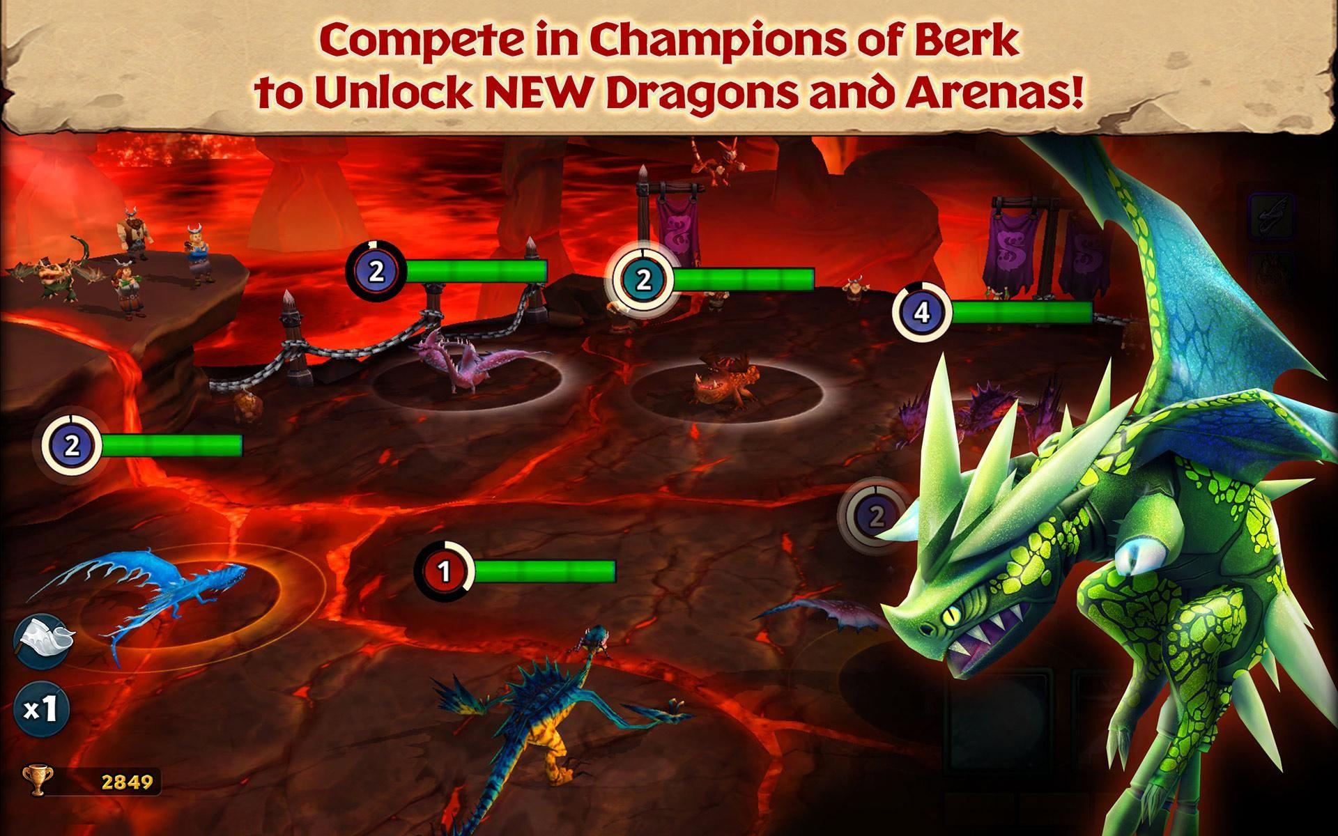Dragons: Rise of Berk 游戏截图2