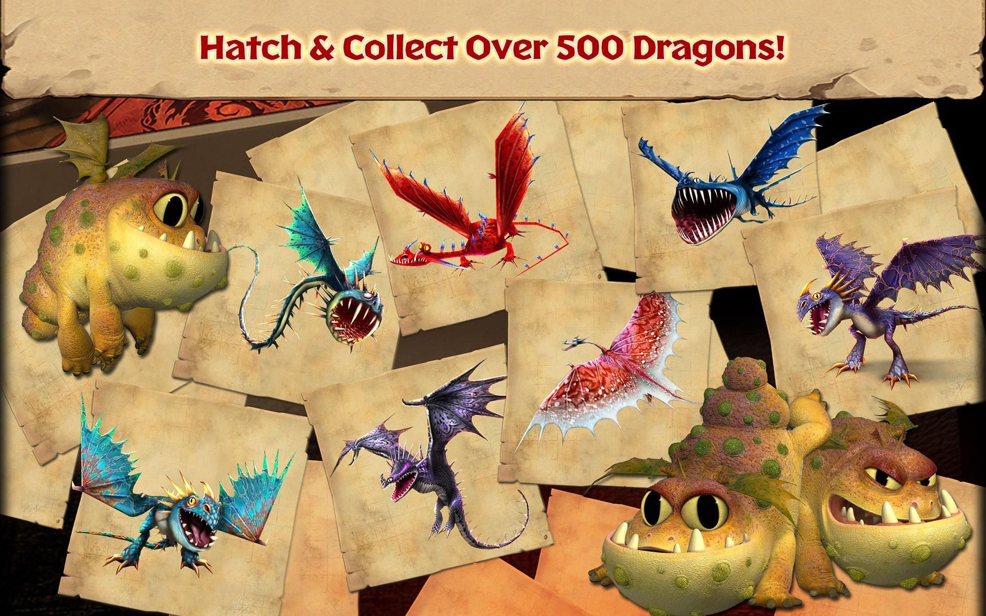 Dragons: Rise of Berk 游戏截图5