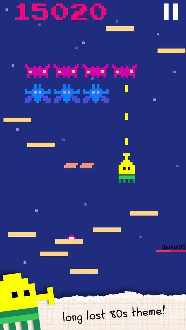 涂鸦跳跃 游戏截图3
