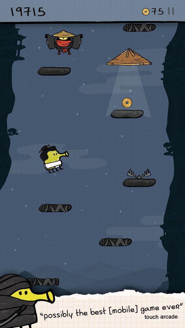 涂鸦跳跃 游戏截图4