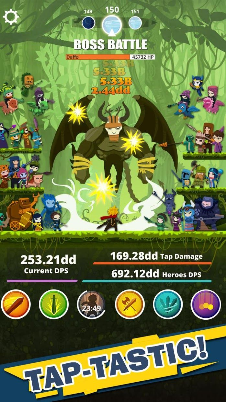 Tap Titans 游戏截图2