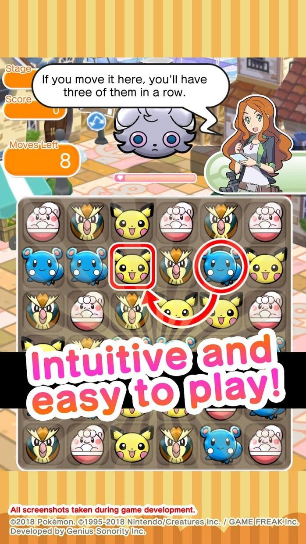 Pokémon Shuffle Mobile 游戏截图3