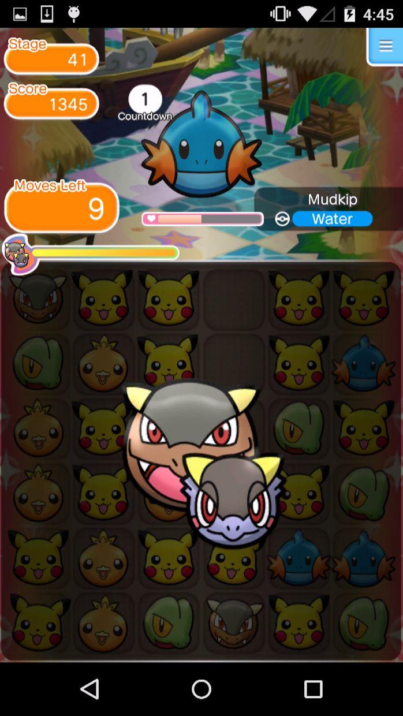 Pokémon Shuffle Mobile 游戏截图5