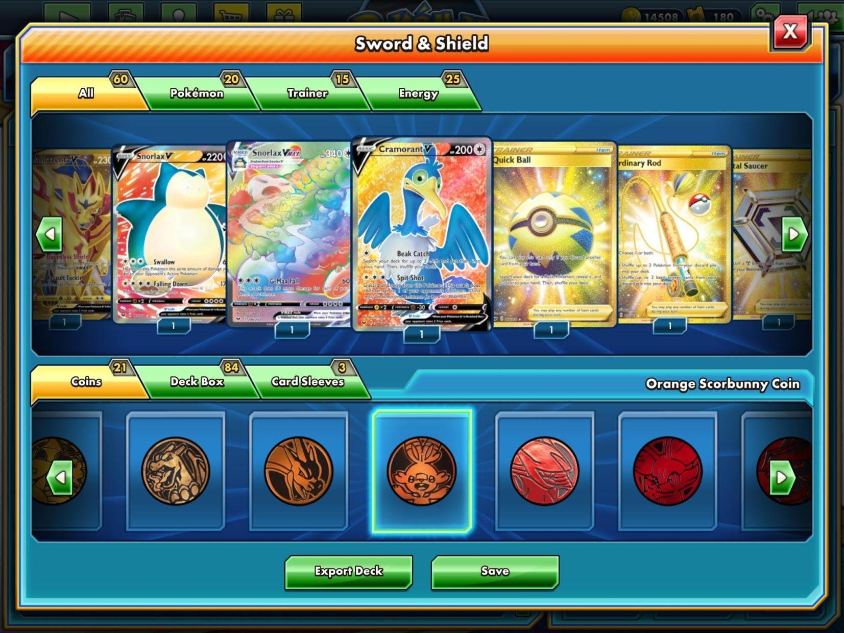 Pokémon TCG Online 游戏截图2