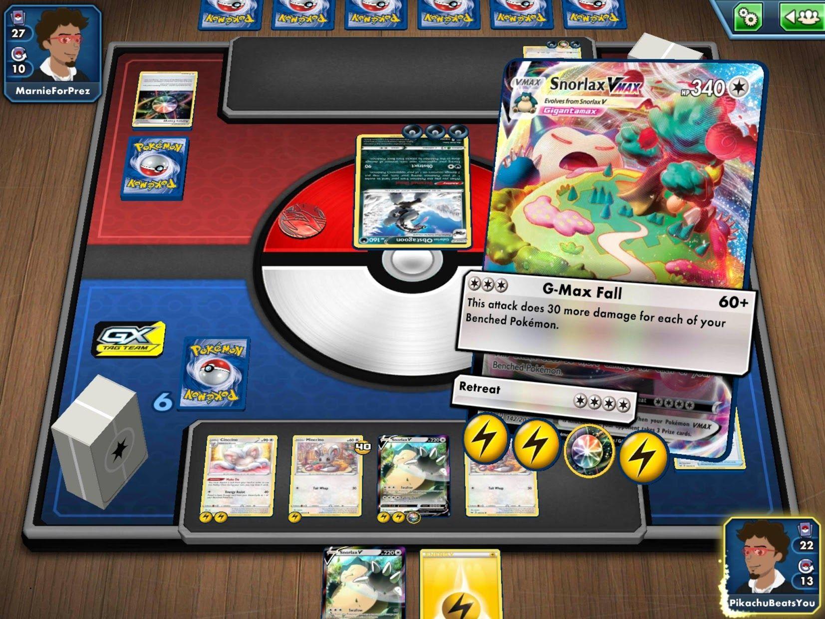 Pokémon TCG Online 游戏截图3