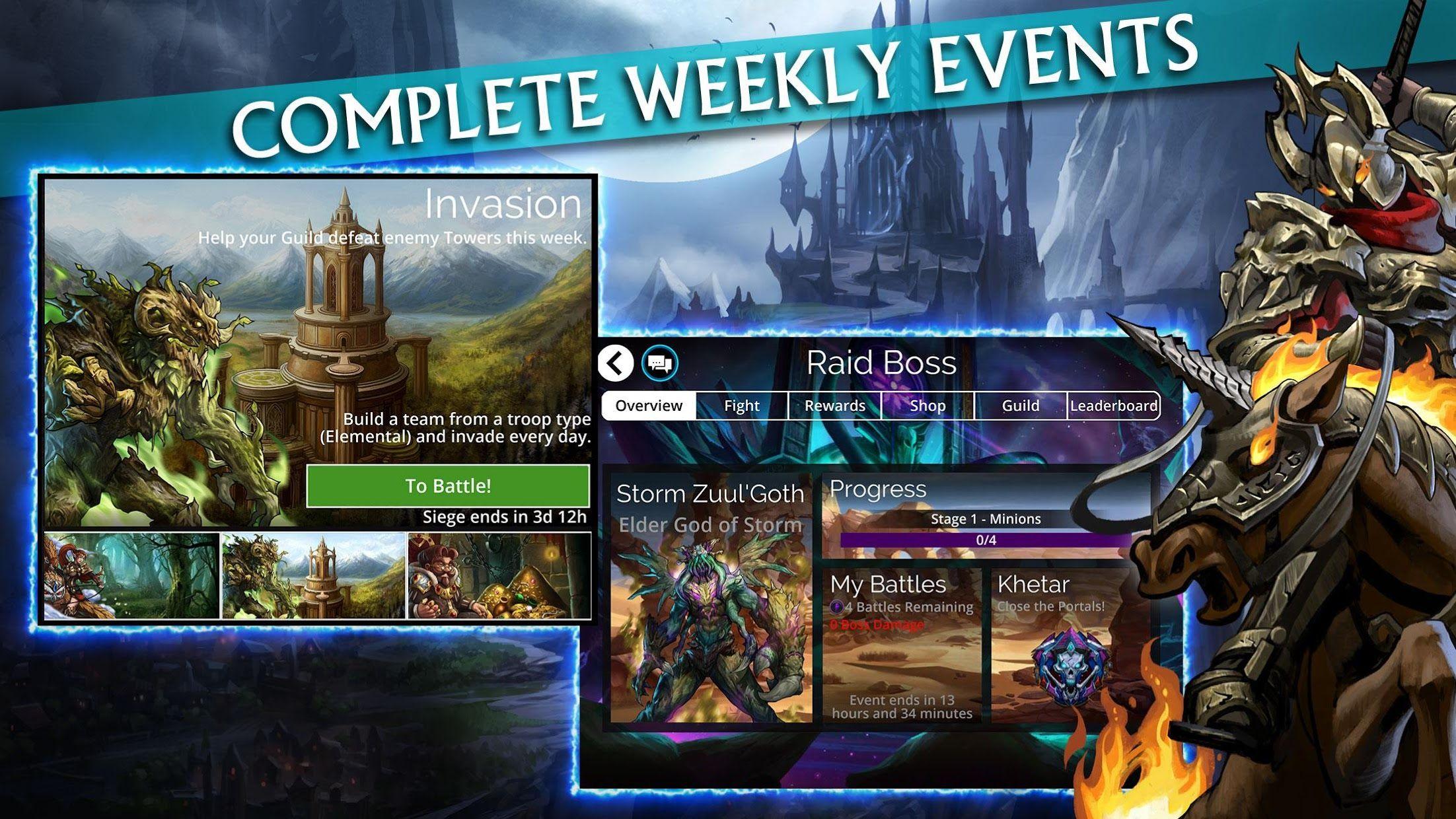 Gems of War - Match 3 RPG 游戏截图4