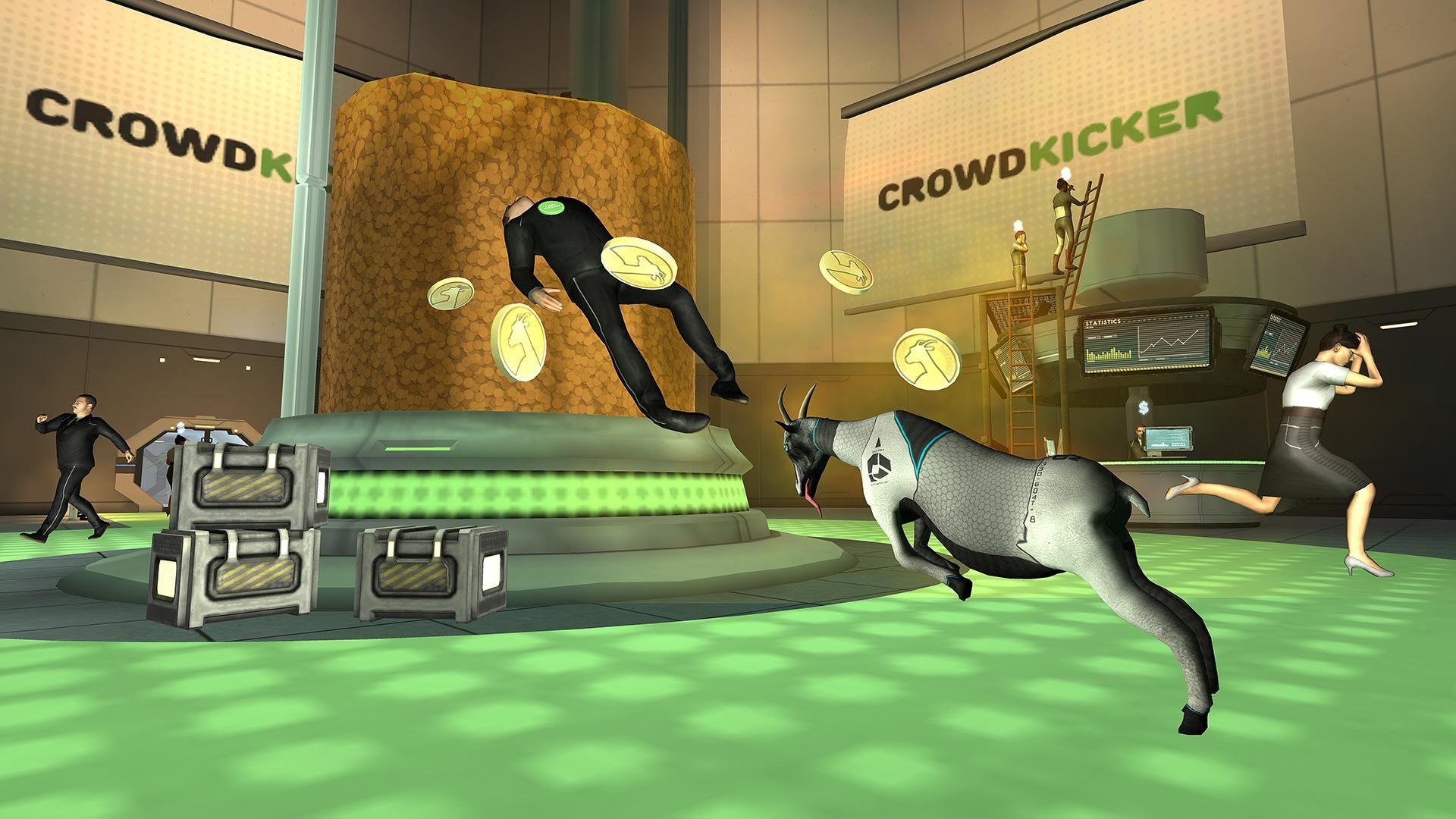 模拟山羊:太空废物 游戏截图2