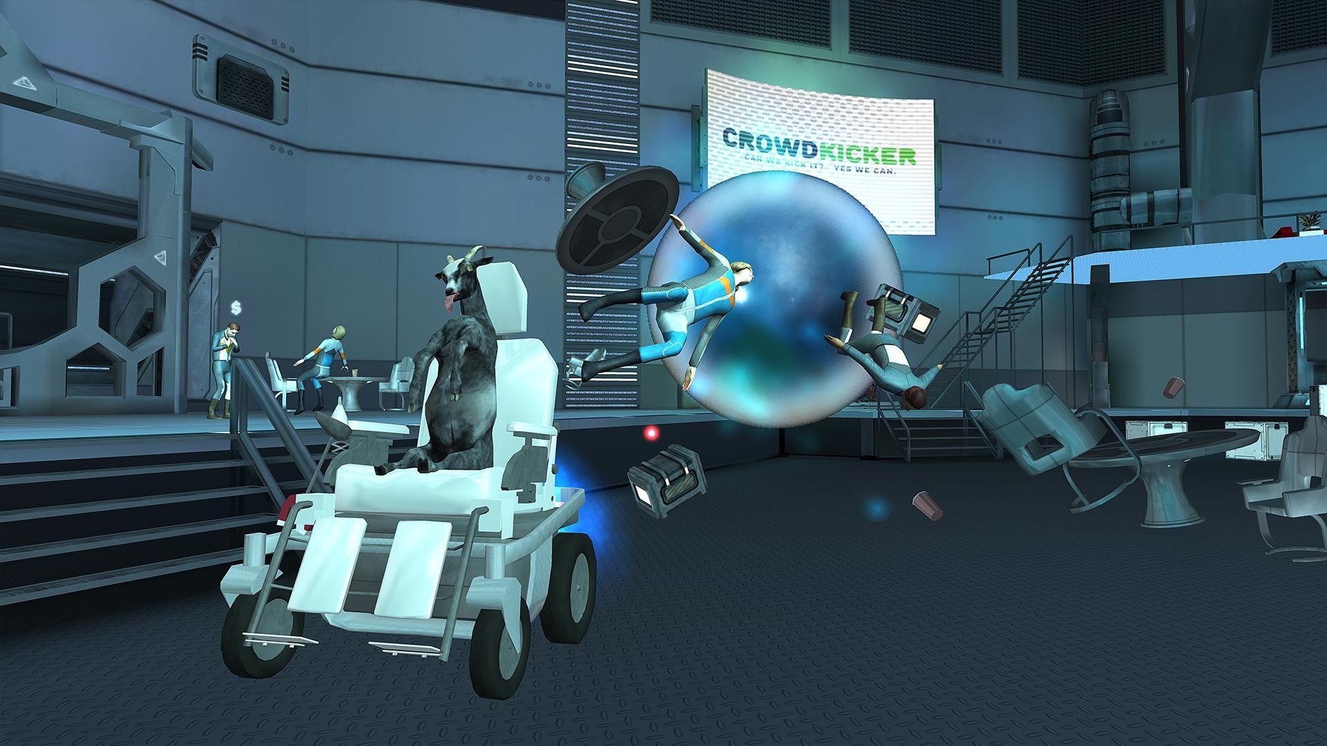 模拟山羊:太空废物 游戏截图4